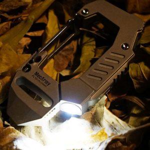 Titanium Carabiner Flashlight