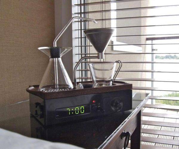 The Barisieur Coffee Brewing Alarm Clock
