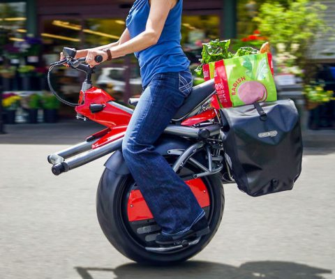 Motorized Gyro Cycle