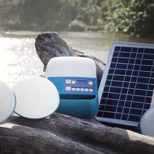 Portable Off-Grid Solar Electricity System