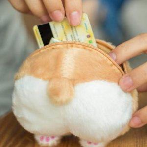 Corgi Butt Coin Purse