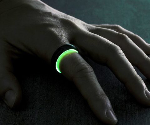 Forged Carbon Fiber Neon Rings