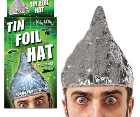 Human Grade Tin Foil Hat