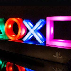PlayStation Controller Buttons Light