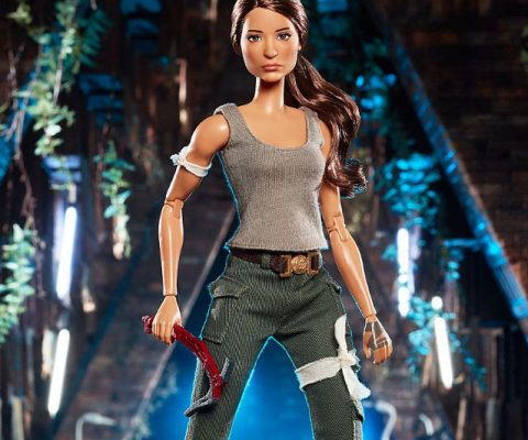 Tomb Raider Lara Croft Barbie Doll