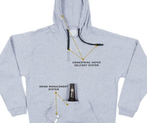 Vape-Ready Tailgater Pro Pullover Hoodie