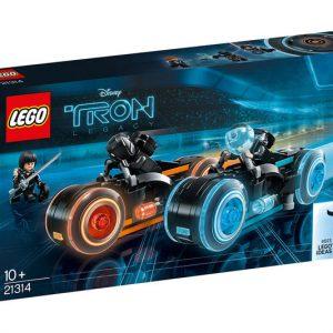 TRON Legacy LEGO Bike Set
