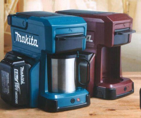 Makita Power Tool Battery Coffee Maker