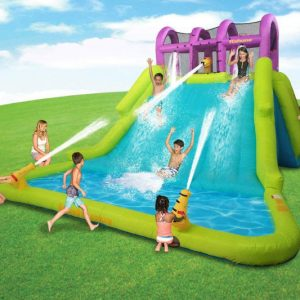 Kahuna Mega Blast Inflatable Water Park