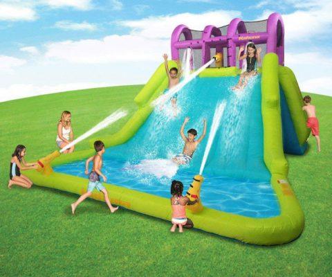Kahuna Mega Blast Inflatable Water Park