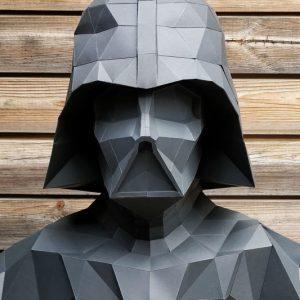 DIY Papercraft Darth Vader Statue