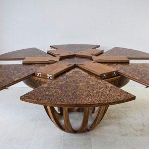 Expanding Rotating Circular Table
