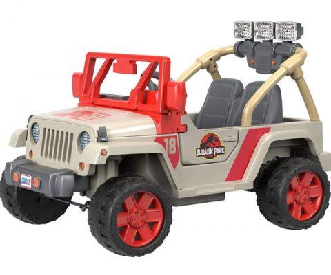 Jurassic Park Kids Ride-On Jeep