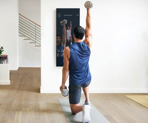Interactive Mirror Home Gym