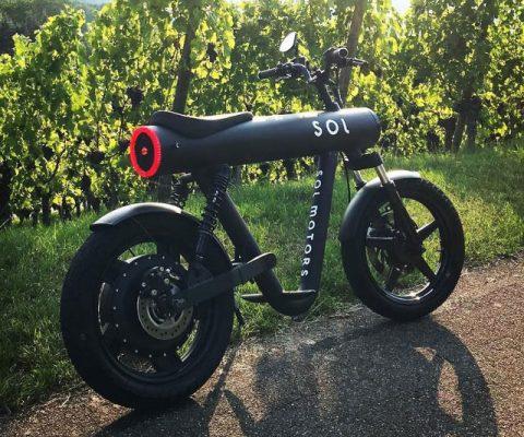 Sol Motors Pocket Rocket Bike