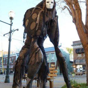 4-Legged Stilt Spirit Costume