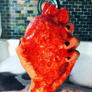 Anatomically Correct Heart Bath Bombs