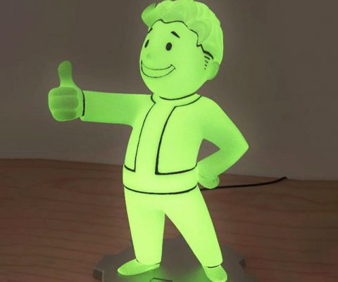 Fallout 76 Vault Boy LED Lamp