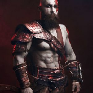 Kratos God Of War Cosplay Costume