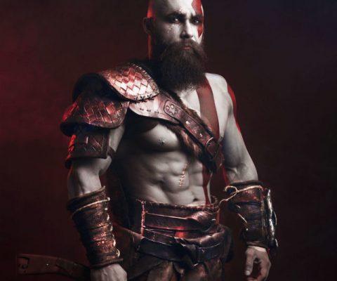 Kratos God Of War Cosplay Costume