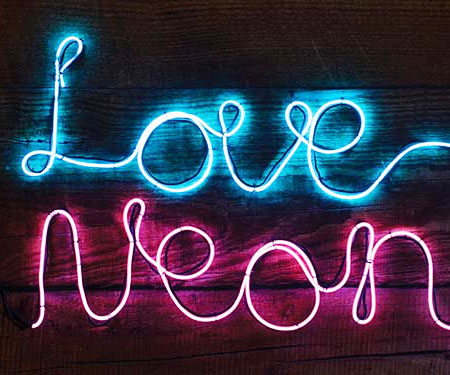 Make Your Own Neon Sign