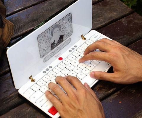 The Distraction-Free Writing Device
