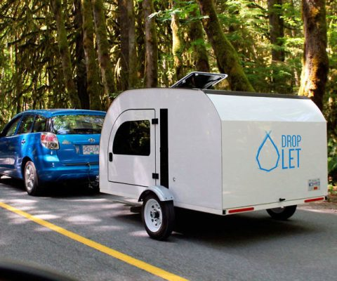 Droplet Off Grid Teardrop Trailer
