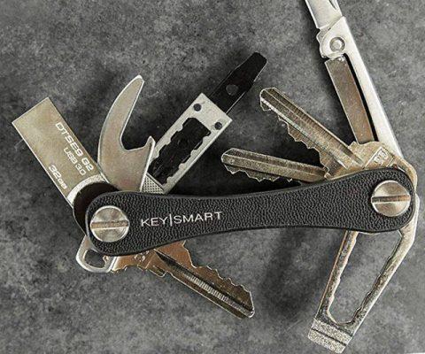 Keysmart Leather Key Organizer