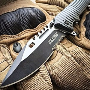 Sawback Tactical Bowie Knife