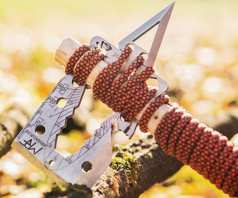 Survival Credit Card Axe Multi-Tool