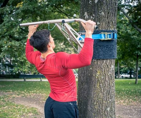 Portable Pullup & Dip Bar