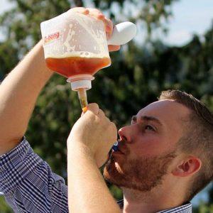 Pressurized Beer Bong Funnel