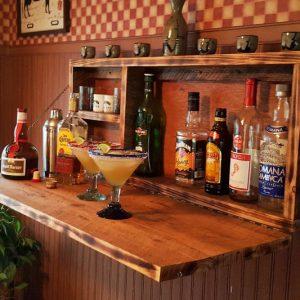 Rustic Wall Mounted Murphy Bar
