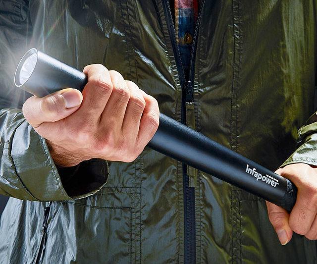 Self Defense Security Flashlight