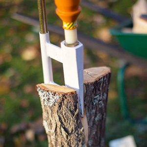 The Smart Wooden Log Splitter
