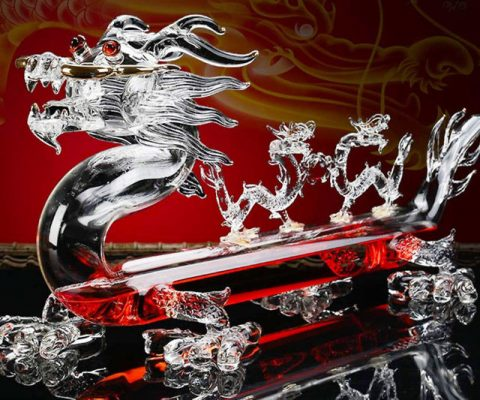 Dragon Shaped Wine Decanter