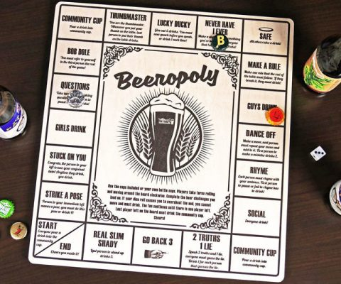 Beeropoly Beer Drinking Board Game