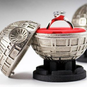 Death Star Engagement Ring Box