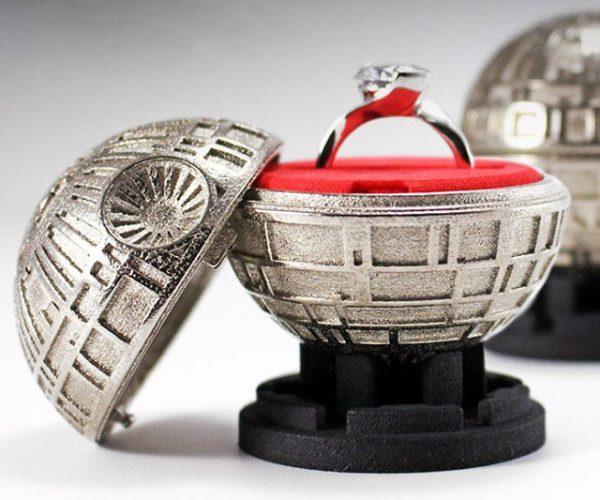 Death Star Engagement Ring Box