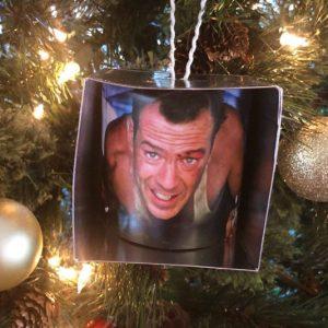 Die Hard Christmas Tree Ornament