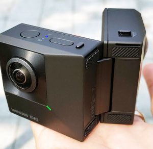 Foldable 3D 360 Degree Camera