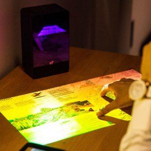 Interactive Touchscreen Projector