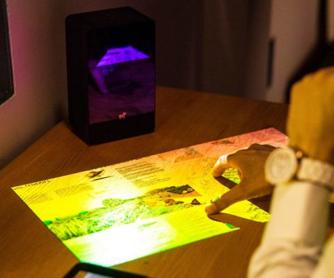 Interactive Touchscreen Projector
