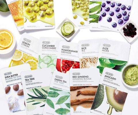 Real Nature Nourishing Face Masks