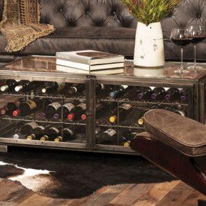 Wine Storage Coffee Table