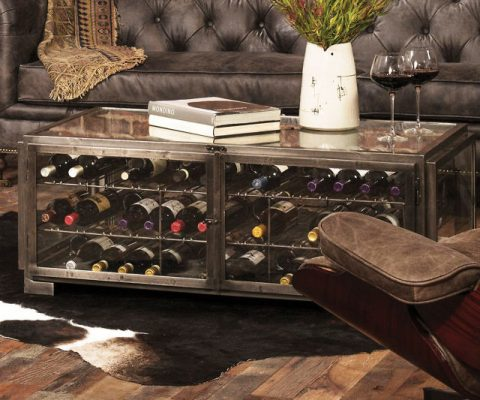 Wine Storage Coffee Table