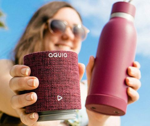 Aquio Water Bottle Speaker