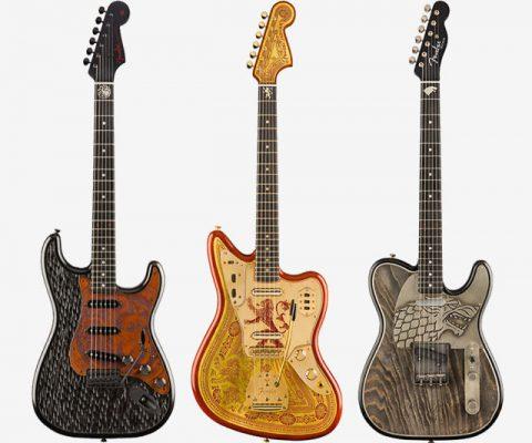 Game Of Thrones Fender Guitars