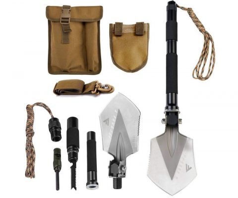 Military Folding Shovel Multi-Tool