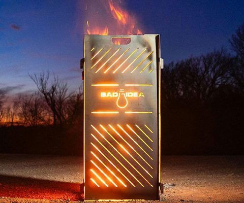 Pyro Cage Incinerator